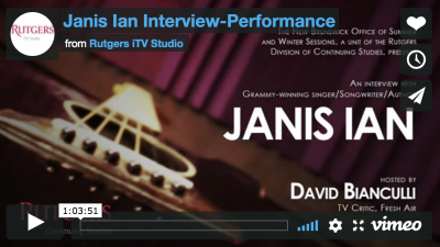 Interview with Janis Ian